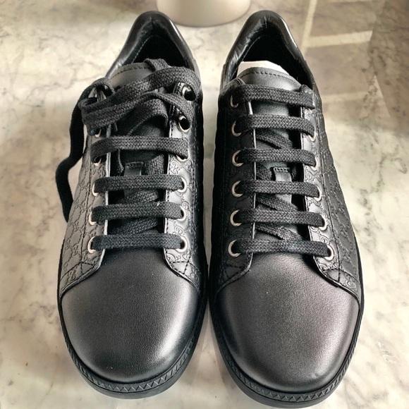 a9bdfcf3542b8 Gucci Shoes | Miro Soft Microssima Sneakers | Poshmark
